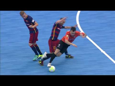 Futsal Intercontinental Cup 2016: Highlights Carlos Barbosa - FC Barcelona Lassa