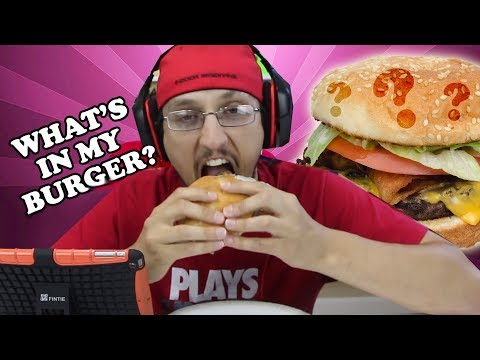 WHAT'S IN MY BURGER?  The Nastiest, Grossest Video Ever! ... on our channel. (FGTEEV gross GAMEPLAY)