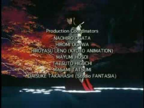 InuYasha Season 1 Ending [My Will - Dream]