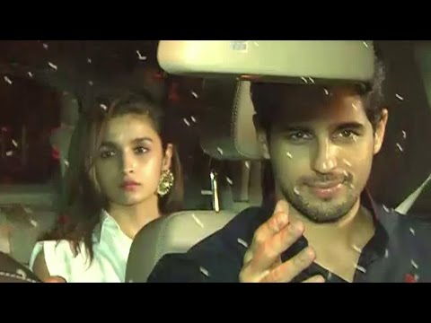 Sidharth Parties Hard At Karan's & Alia's Houses |