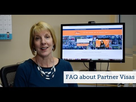 Frequently Asked Questions Partner Visas
