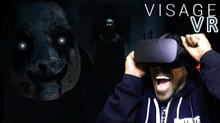 ⚠️ CAUTION HEADPHONE USERS⚠️ Visage VR Gameplay ENDING
