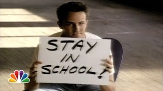 Matthew Perry: PSA on Education