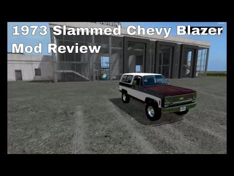 1973 Slammed Chevy Blazer v1