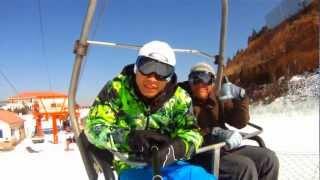 Snowboarding in BeiJing 北京