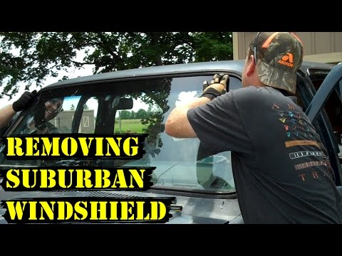 How to Remove a Suburban Windshield (Fast!)