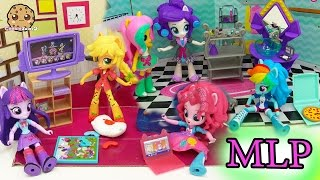 My Little Pony Equestria Girls Mini Dolls Elements of Friendship  + Slumber Party Set