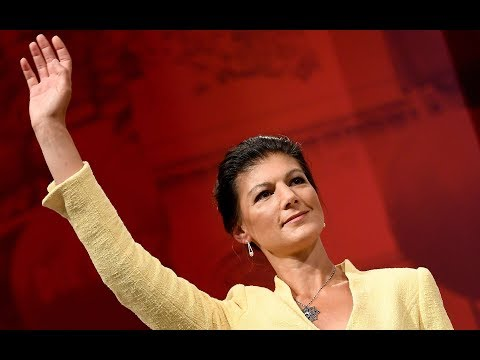 Die Linke: Fraktionschefin Sahra Wagenknecht erklärt  ...