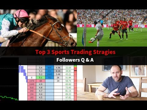 Top 3 Sports Trading Strategies