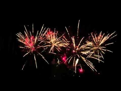 Feuerwerk 16.10.15 Spreespeicher Berlin
