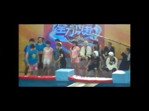 [ Fancam ] - Luhan 'running On Water' Game Go All Out