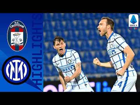 Crotone 0-2 Inter | Eriksen and Hakimi Goals Seal the Title for Inter! | Serie A TIM