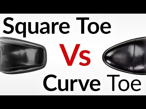Should Men EVER Wear Square Toe Dress Shoes? | Squared Toe Vs Curved Toe Which Side Are YOU On?