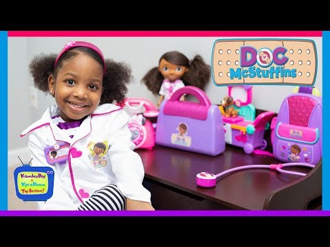 Doc Mcstuffins to the Rescue   Kyraboo Playing Animal Hospital