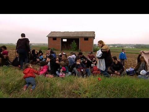 Griechenland: Migranten überqueren EU-Außengrenze