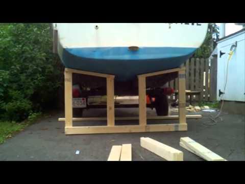 Jak postawić jacht na kobyłkach