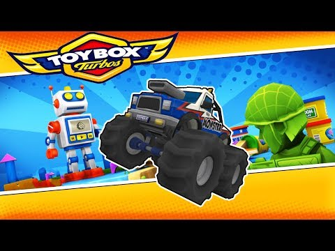 Toybox Turbos - AWESOME HOT WHEELS RACING! - Toybox Turbos Gameplay - The New Crash Wheels Game!