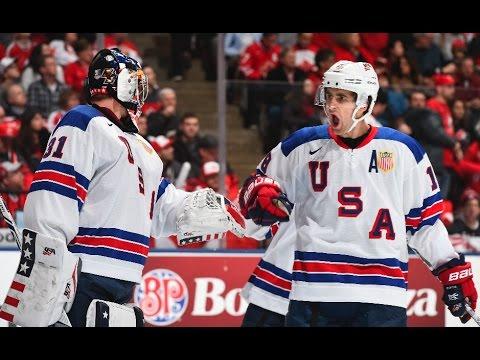 2017 WJC: In NYE Rivalry Game, USA Beats Canada 3-1