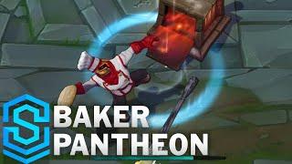 Chi tiết hình ảnh bộ trang phục mới Pantheon Thợ Làm Bánh (Baker Pantheon)
