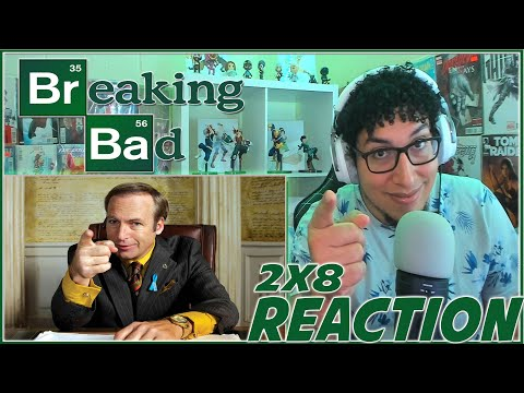 BETTER CALL SAUL! | Breaking Bad 2x8 REACTION | Season 2 Episode 8