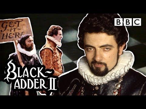 Blackadder II's funniest and rudest put downs 😂   Blackadder - BBC