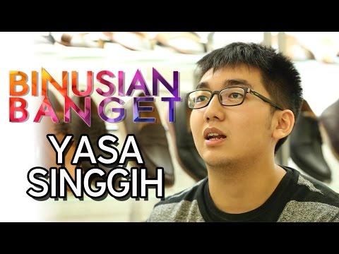 BINUSIAN BANGET – Yasa Singgih – Marketing Communication Student