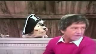 Classic Soupy Sales and Captain Pookie the Pirate.