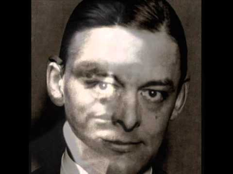 TS Eliot Reads