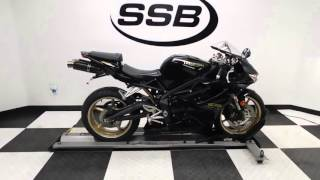 2. 2011 Triumph Daytona 675 Black - used motorcycle for sale - Eden Prairie, MN
