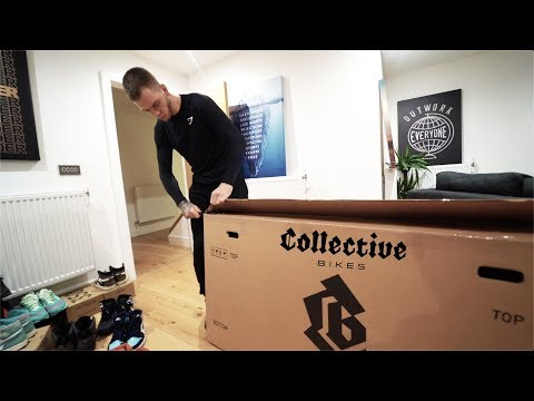 UNBOXING THE COLLECTIVE BIKES C100 MTB!