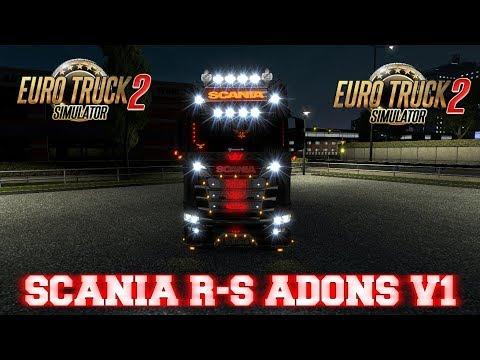 Scanıa R_S Adons v1 1.30