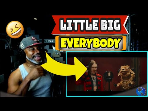 LITTLE BIG - EVERYBODY (Little Big Are Back) (Official Music Video) - Producer Reaction