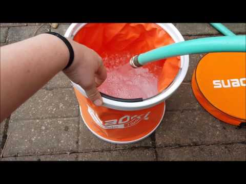 Collapsible Folding Water Bucket