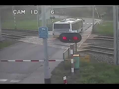 Pendolino vs bus #slide #crash
