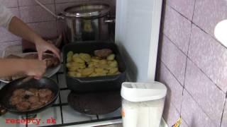Recepty sk: Maslový teľací rezeň