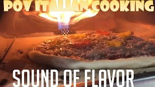 Sound of Flavor - Pizza Baking in My RoccBox Oven by POV Italian Cooking