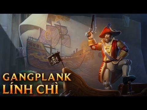 Gangplank Lính Chì - Toy Soldier Gangplank
