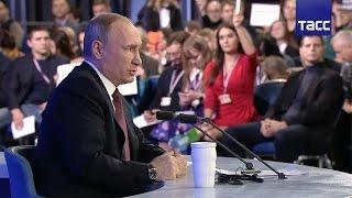 """""""В России никогда не было и не будет госпрограммы допинга"""",– Путин про доклад Макларена"""
