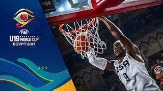 Watch live USA v Angola at the FIBA U19 Basketball World Cup 2017. ►► Subscribe: http://fiba.com/subYT Click here for more: http://fiba.basketball/u19 Facebo...