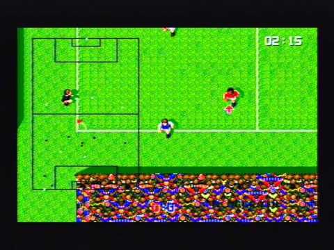 Super Kick Off Megadrive