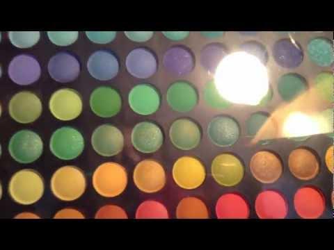 Jazooli 120 palette unboxing