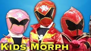 Power Ranger Kids Part Two [Power Rangers Morph]