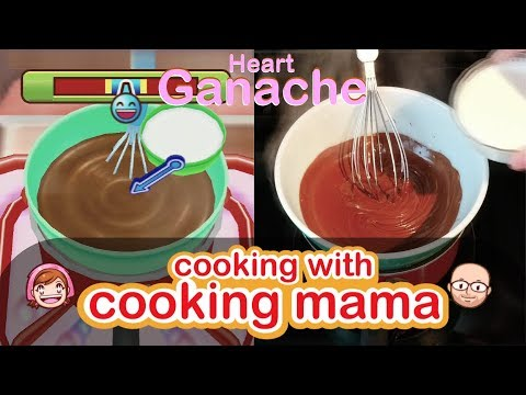 Heart Ganache | Cooking With Cooking Mama!