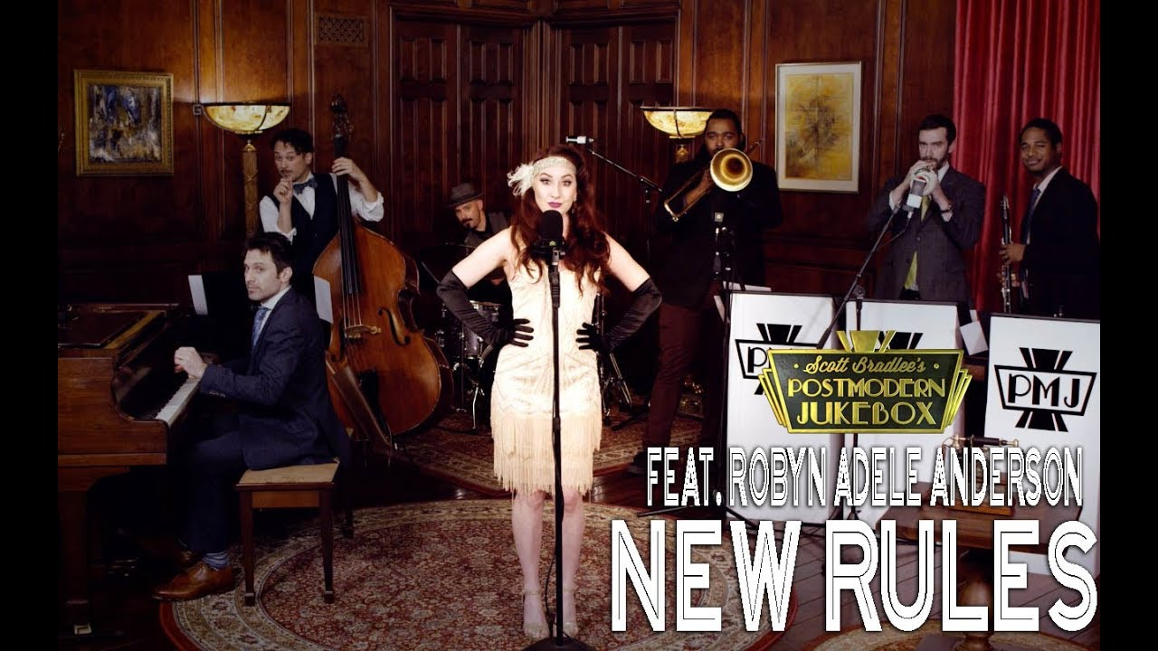 New Rules – Dua Lipa (1920s Cover) ft. Robyn Adele Anderson