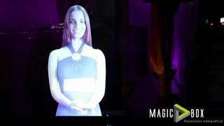 Anfitriona Virtual MagicBox / Holograma Ecuador