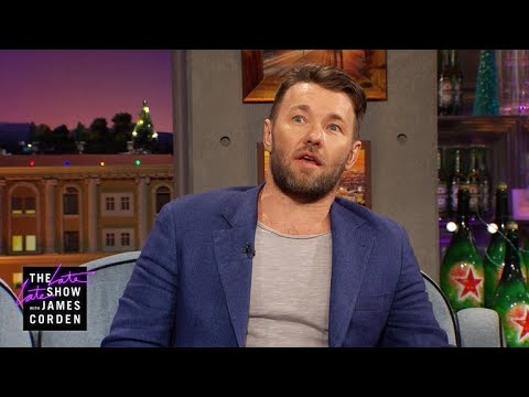 Joel Edgerton Reached Peak Positivity w/ Will Smith (видео)