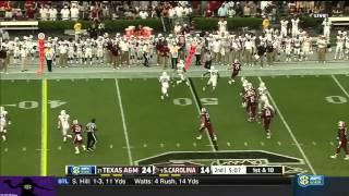 Dylan Thompson vs Texas A&M (2014)