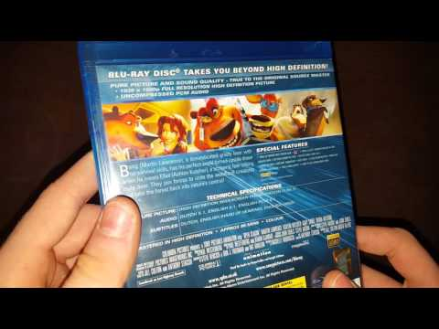 Open Season Bluray Unboxing