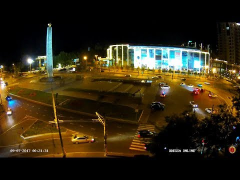Полицейские разогнали любителей дрифта в Одессе