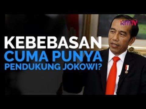 Kebebasan Cuma Punya Pendukung Jokowi?